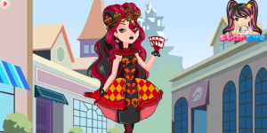 Ever After High Lizzie Hearts Dress Up