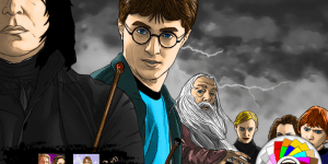 Hra - Harry Potter Online Coloring 2