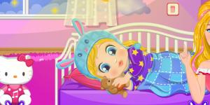 Hra - Barbie's Baby Bedtime