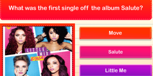 Hra - Little Mix Quiz