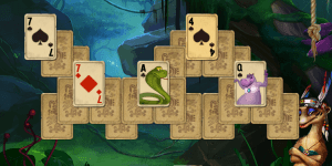 Hra - Rainforest Solitaire