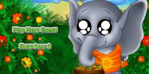 Hra - Baby Elephant Dressup