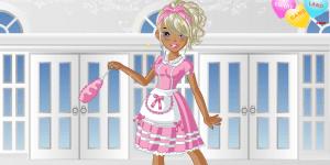 Cutie Maid Dress Up