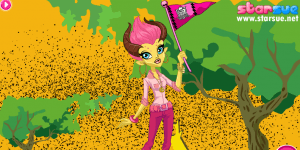 Monster High Gilda Goldstag Dress Up