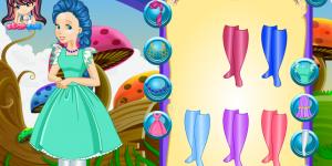 Alice Wonderland Fashion