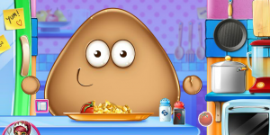 Hra - Pou Real Cooking