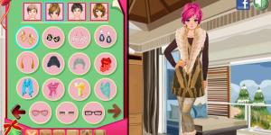 Hra - Dress Up Winter Friends