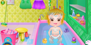 Hra - Baby Hazel Bathroom Hygiene