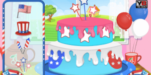Hra - 4th Of July Cake Surprise