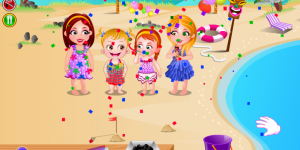 Hra - Baby Hazel Beach Party