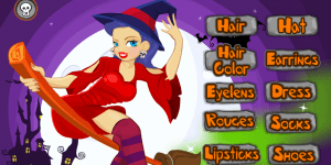 Hra - Witch Dress Up