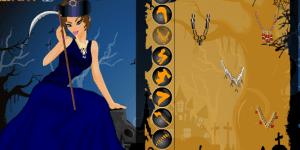 Queen Of Hallowenn Dress Up