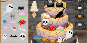 Hra - Halloween Wedding Cake