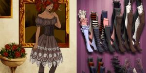 Hra - Gothic Lolita