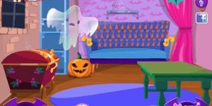 Hra - Halloween House Makeover
