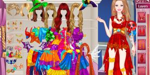 Hra - Barbie Halloween Princess