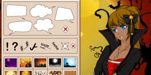 Hra - Halloween Manga Maker