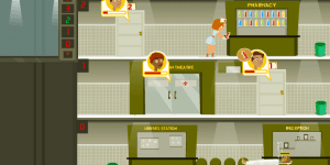 Hra - Hospital Admin