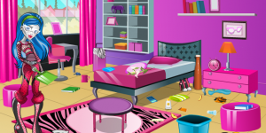 Ghoulia Yelps Room CleanUp