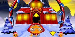 Hra - Monkey GO Happy North Pole