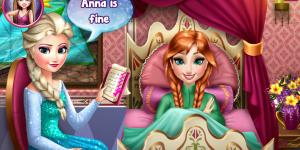 Hra - Anna Frozen Flu Doctor