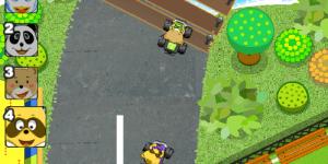 Hra - Raccoon Racing