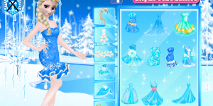 Hra - Elsa And Anna Party Dresses