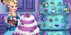 Elsas Wedding Cake