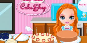 Hra - Baby Barbie Cake Shop