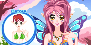 Hra - Fairy Party Make Up