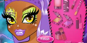 Hra - Monster High MakeUp School