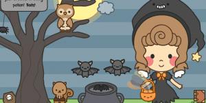 Hra - Button's Halloween Dress Up