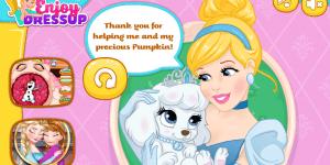 Hra - Cinderella Pumpkin Accident