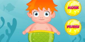 Hra - Pregnant Mermaid Baby Care
