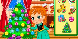 Hra - Princess Anna Christmas Slacking