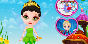 Hra - Baby Barbie Fairy Costumes