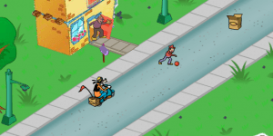Hra - Goofy's Hot Dog Drop