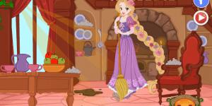 Hra - Rapunzel House Makeover