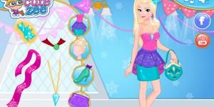 Hra - Frozen Prom Nails Designer