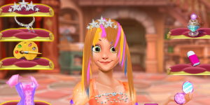 Rapunzel Princess Fantasy Hairstyle