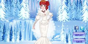 Ice Princess Wedding Dress