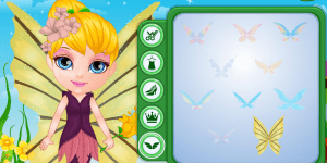 Hra - Baby Barbie Fairy Costume