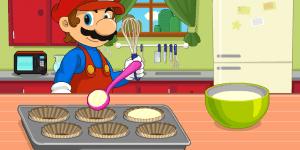 Hra - Mario Mushroom Cupcake