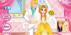 Hra - Princess Anna Frozen Wedding