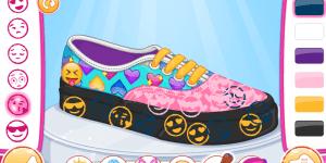 Hra - Barbie Design My Emoji Shoes
