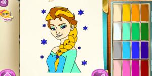 Hra - Frozen Coloring Book