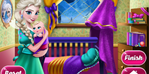 Hra - Elsa Mommy Room Deco