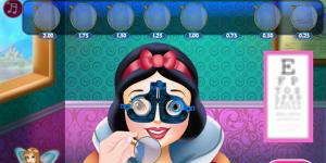 Hra - Snow White Eye Treatment