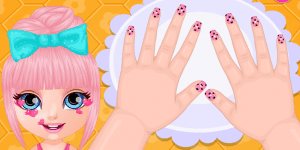 Hra - Baby Barbie Crazy Nails