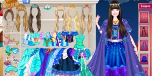 Hra - Barbie Frozen Wedding